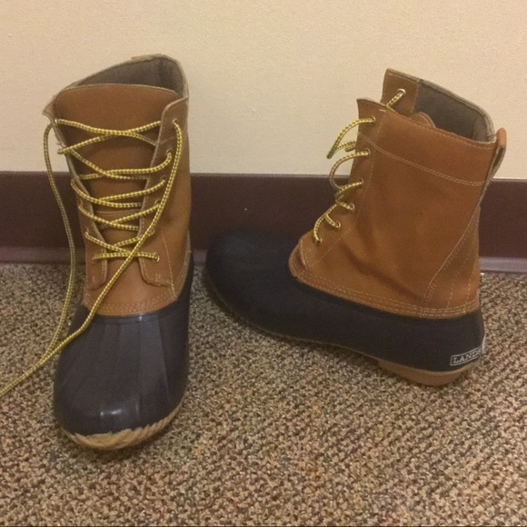 0c66fc4c9d520 Lands End Womens duck boots